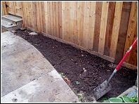 preventative work to keep animals from digging under sheds and buildings