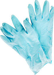 safety gloves for handling traps with poison