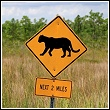 wildlife warning sign